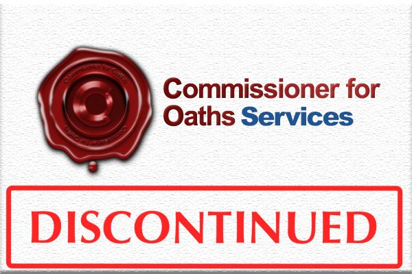Commissioner For Oaths Services