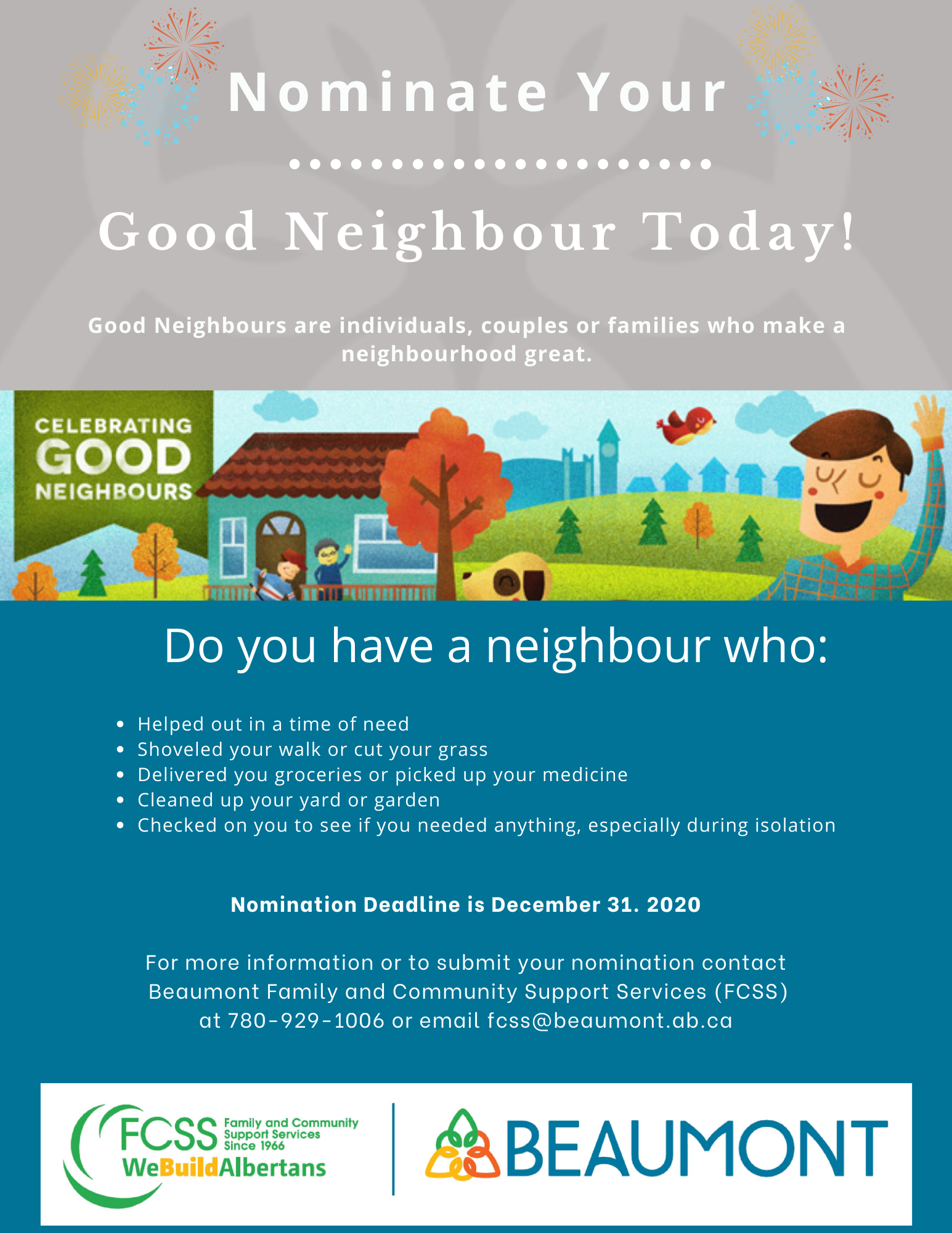 Copy of Good Neighbour poster 2020