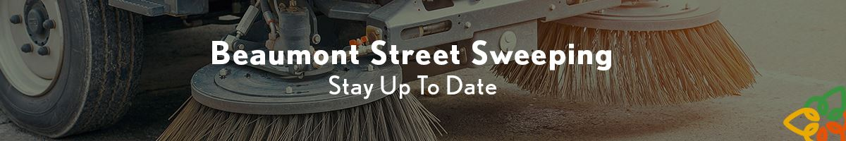 Street Sweeping Web Banner