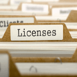 Licences Business Logo