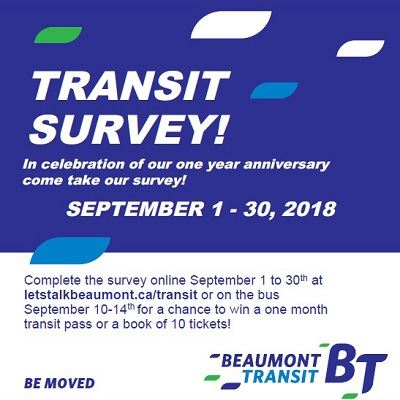 Beaumont Transit Survey